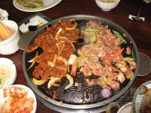 韩国烤肉-青岛英华外语学校