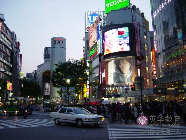 日本购物的梦想之地-东京涩谷-青岛日语培训学校