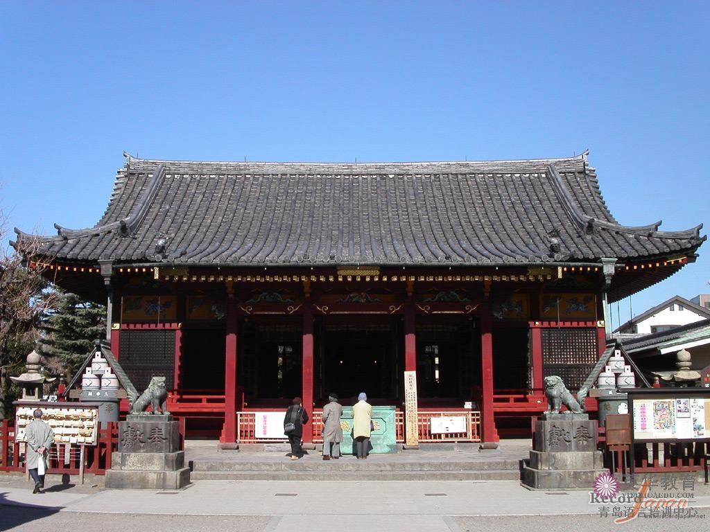 东京都保存着传统风情的浅草-青岛英华日语学校
