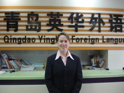 英语教师:Emilie