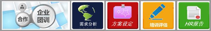青岛英华外语企业培训中心--培训流程